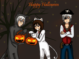 Happy Halloween by WomanInGreen13