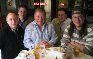 Lunch with Mr. Shatner by Erich0823