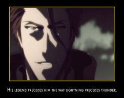 Most Interesting Man In The World - Aizen - by grimmjack