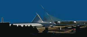 Milwaukee Art Museum One by MVTPhotography