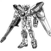 Gundam by MDTartist83