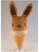Eevee'Cream  Plush by StarMassacre