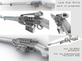 Lone Star Rifle WIP by primnull
