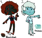 .:ADOPTS:. Marked Gems CLOSED by kass-the-kitten