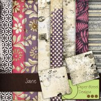 jane-paper street designs by paperstreetdesigns