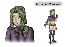 Cornelius Diamond ::Dissidia::Final Fantasy:: OC by Kastella72