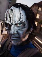 cardassian starfleet officer closeup by Necr0w