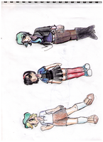 Genderbent Pokemon BW Characters by Rkdailey