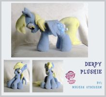 Derpy Hooves Plushie v.4 by nooby-banana