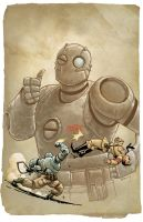 Atomic Robo by MarkHRoberts