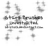 Stars Brushes by sd-stock