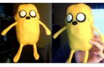 Jake the Dog Plush by disbdarby
