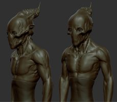 Alien WIP 1 by panick
