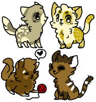 Cat Adopts! (OPEN) by SNlCKERS