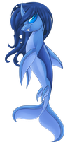 Dolphin Changeling by chris9801