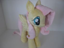 Friendship is Magic Fluttershy Plush by GreenTeaCreations