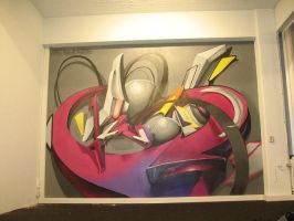 3d graffiti by thewritebros