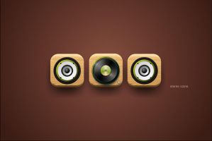 stereo icons by meffer-design