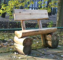 wood bench1 by Susannehs