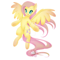 Fluttershy by MissRenaKitsune