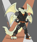 Black White and Orange by OutLeaf