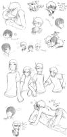 LARGE APH DOODLE DUMP - 3 by anime-angel-in-dark
