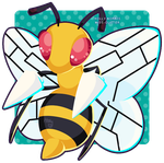 015 Beedrill by Miss-Glitter