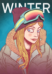 WINTER GIRL by d-X2