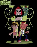 billy y mandy by TraiN8