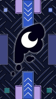 iPhone 5 - Princess Luna Cutie Mark Wallpaper by Ahsokafan100