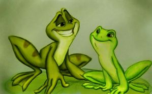 Froggy Smiles by Phobic42