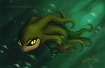 Angry Baby Octopus by Anilede