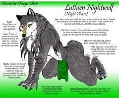 Nightwolf Character Sheet by LuthienNightwolf