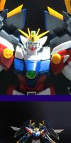 1/100 gundam wing proto zero almost complete by bloodblader