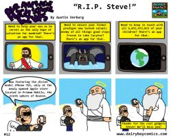 R.I.P. Steve by DairyBoyComics