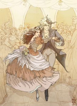 Labyrinth: The Royal Waltz by janey-jane