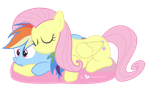 Rainbow Dash is Best Pillow by dm29
