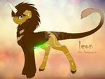Leon The Lavacorne by twilighthowl12