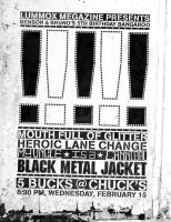 Black Metal Jacket Flyer 3 by expiringsun