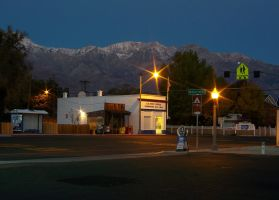 Downtown Independence, CA. by ferroequine