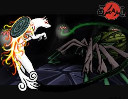 Okami: The Spider Queen by SmakDaBunny