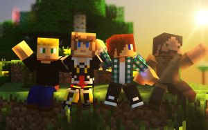 Speed-Art   CoopTeam by Clank-Zoni