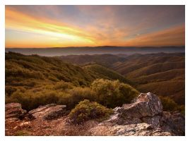 Mountain Sunset 1 by austinboothphoto