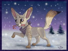 The night before Christmas by Fur-kotka