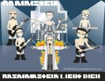 Rammstein Portrait by LinkJackson
