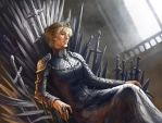 Queen Cercei Lannister by Virzoeve