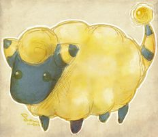 Mareep by affectionateTea