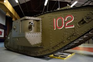 DSC 0165 WWI Mark IV Male Tank by wintersmagicstock
