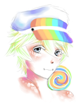 Rainbow Freebie by arisufae