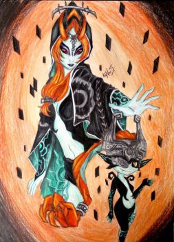 Princess Midna by kaNniS-MoonHylia